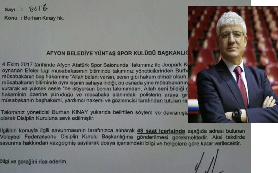 VOLEYBOLDA HAKEM REZALETİNDE SON PERDE