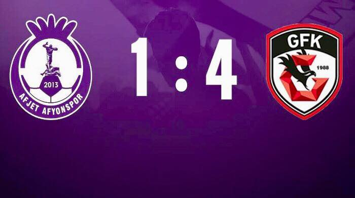 Afjet Afyonspor 1-4 Gazişehir FK Maç Özeti HD
