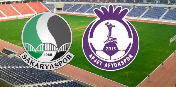 Sakaryaspor-Afjet Afyonspor Play-Off Final maçı 1-2