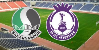 Sakaryaspor-Afjet Afyonspor Play-Off Final maçı 1-2