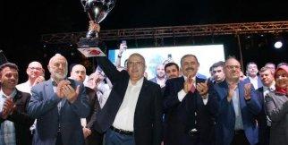 Şampiyona Yakışır Kutlama. Afyon Belediyespor Süper Ligde!